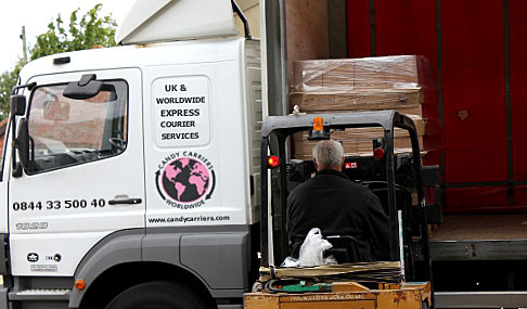 UK & Offshore Pallet Delivery Courier Services